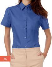 Women´s Poplin Shirt Heritage Short Sleeve